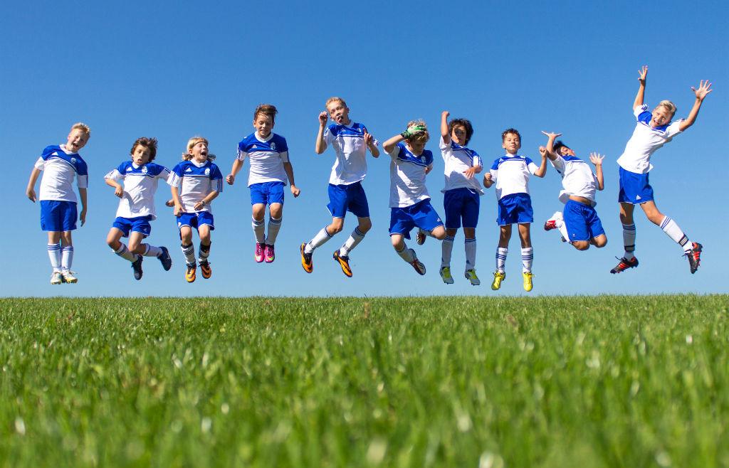 Pressebild BFV Ferienfußballschule